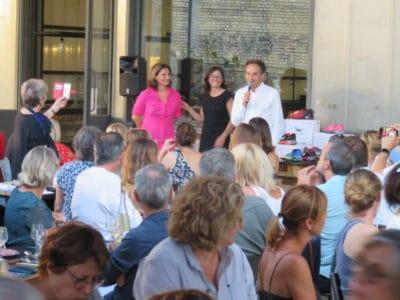 partenariat raid amazones et parole d'enfant, projet sportif et soutien à l'association, juillet 2020 à la Friche de la Belle de Mai à Marseille